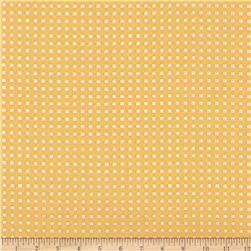 Michael Miller Tiny Gingham Yellow Fabric