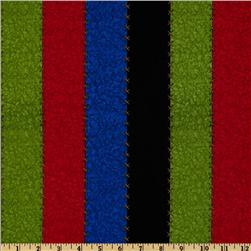 School House Fancies Bold Stripe Black/Green