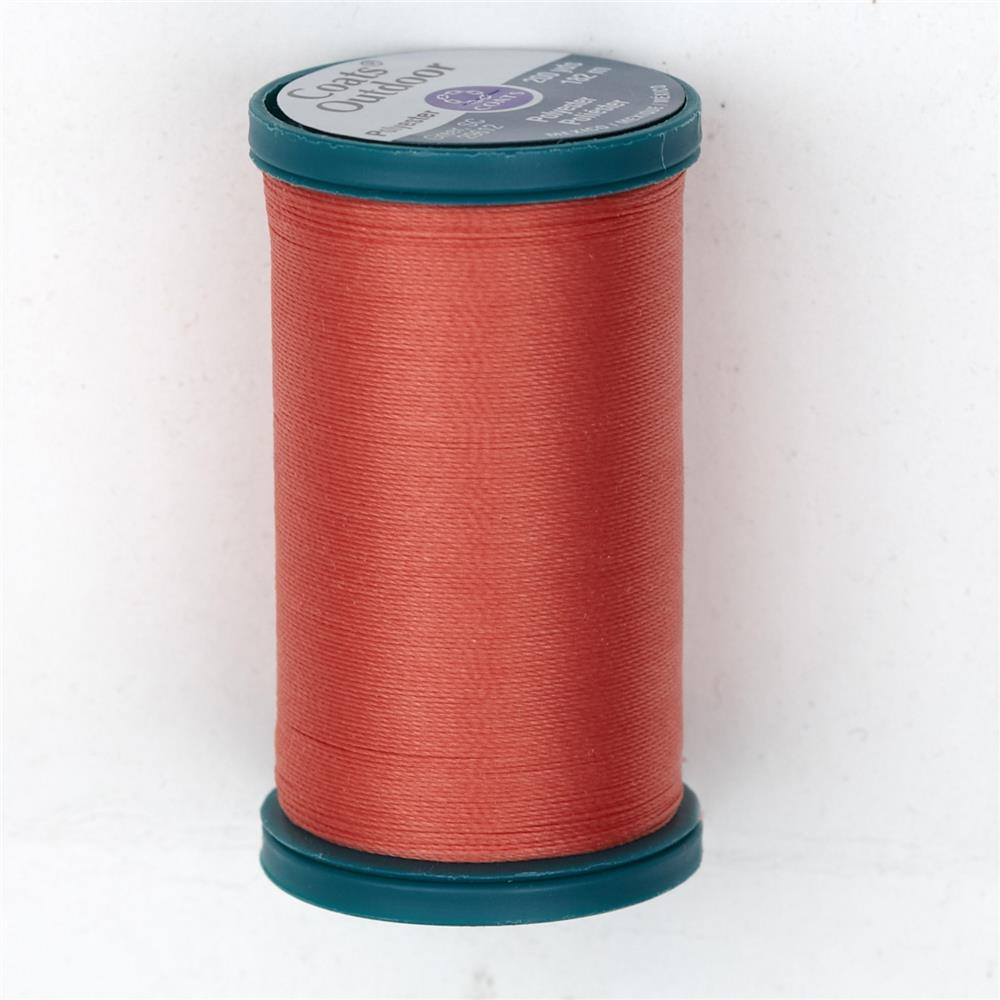 Coats & Clark Outdoor Thread 200 YD Coral