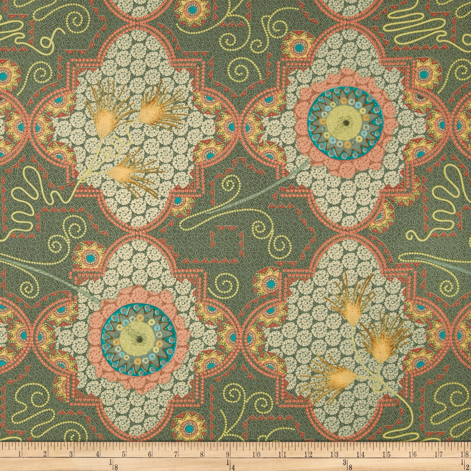 Temple Topaz Fabric