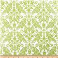 Riley Blake Hollywood Sparkle Medium Damask Lime