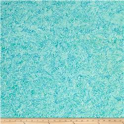 Wilmington Batiks Flourish Tiffany Blue