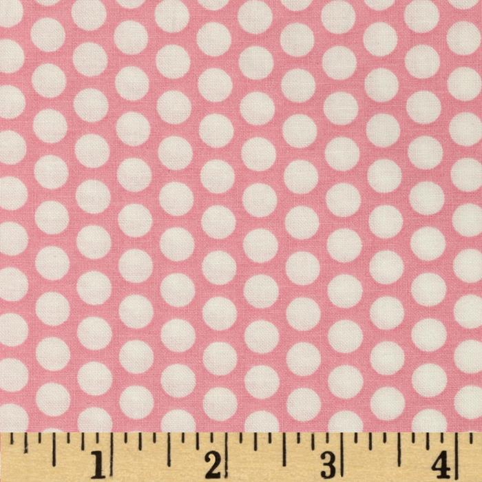 Basic Training Medium Dot Pink/White