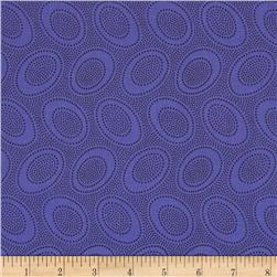 Kaffe Fassett Collective Aboriginal Dot Periwinkle Fabric