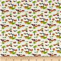 Mary Fons Small Wonders Brazil Digital Print Tropical Huts White