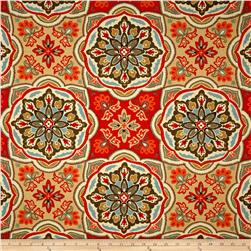 Waverly Tapestry Tile Clay