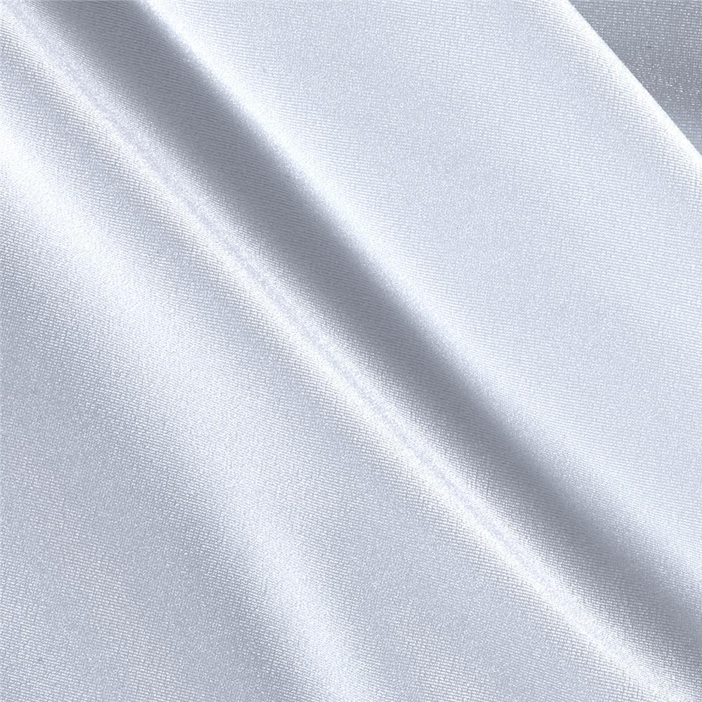 Activewear Spandex Knit Solid White Fabric By The Yard
