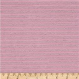 Stripe Pink Rib Knit