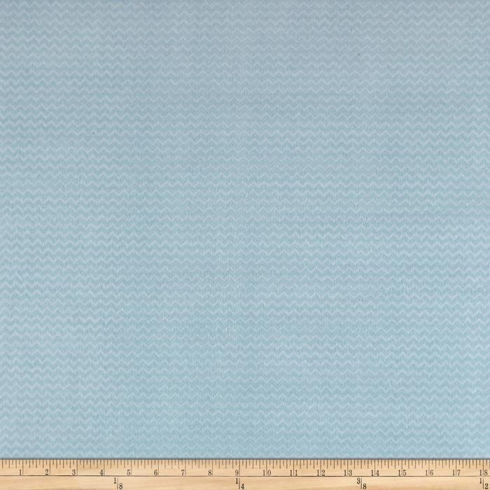 Wise One Flannel Chevron Light Blue