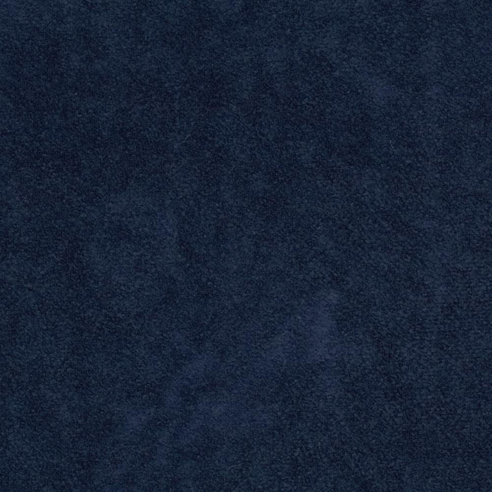Deer Suede Velour Navy
