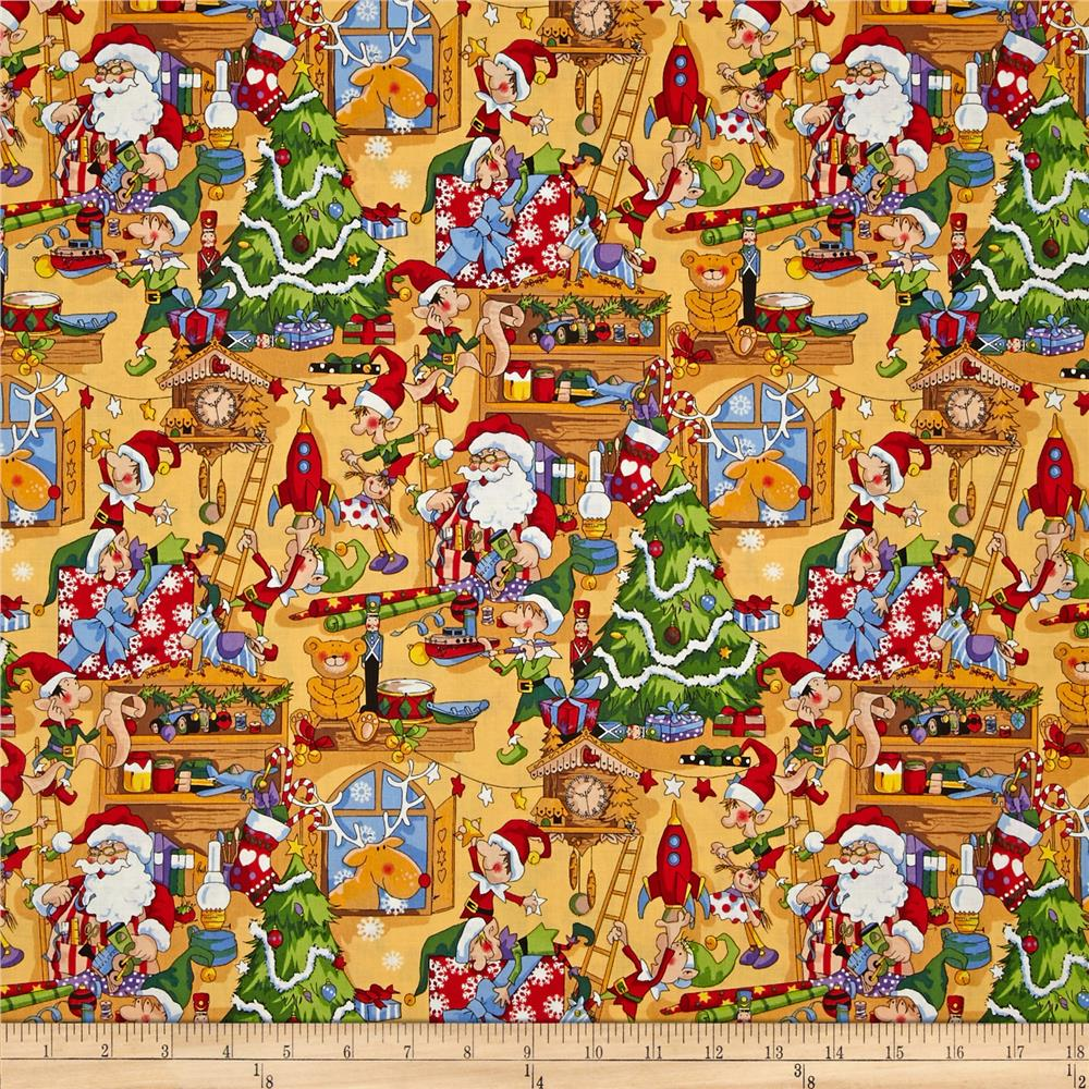 Santa's Workshop Workshop Multi Gold