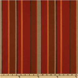 Richloom Solarium Outdoor Delmar Stripe Salsa Home Decor