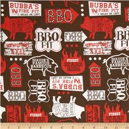 Ribs & Bibs Open Pit Brown