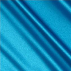Stretch Charmeuse Satin Sky Blue