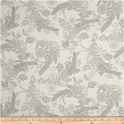 Moda Bee Inspired Botanical Sketch Laurel White