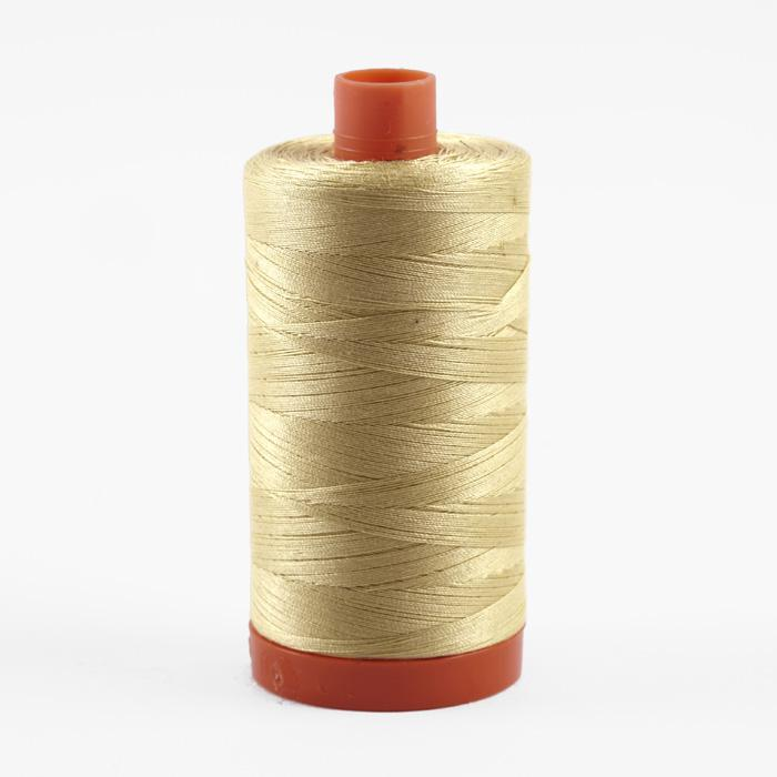 Aurifil Quilting Thread 50wt Butter