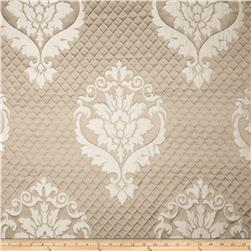 Starlight Quilted Damask Times Mocha