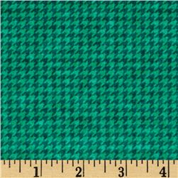The King's Arrival Houndstooth Check Teal