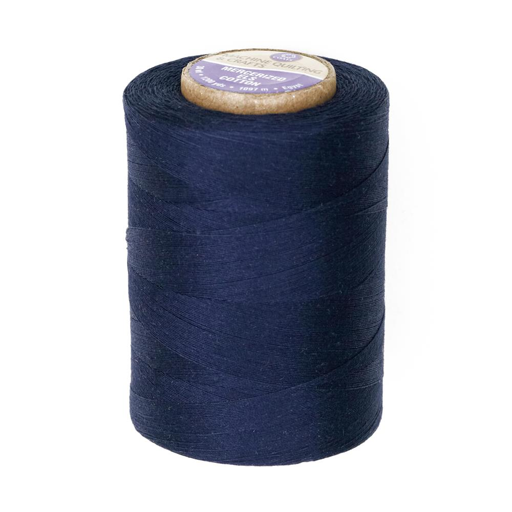 Coats & Clark Star Mercerized Cotton Quilting Thread 1200 Yd. Navy