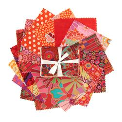 Kaffe Fassett Fat Quarter Assortment Red