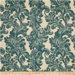 Premier Prints Newell Village Blue/Natural