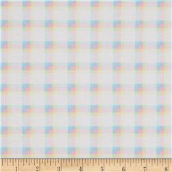 Kanvas Bunny Hop Soft Plaid White/Pastel