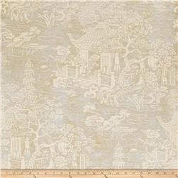 Fabricut 50068w Fontana Wallpaper Seaglass 01 (Double Roll)