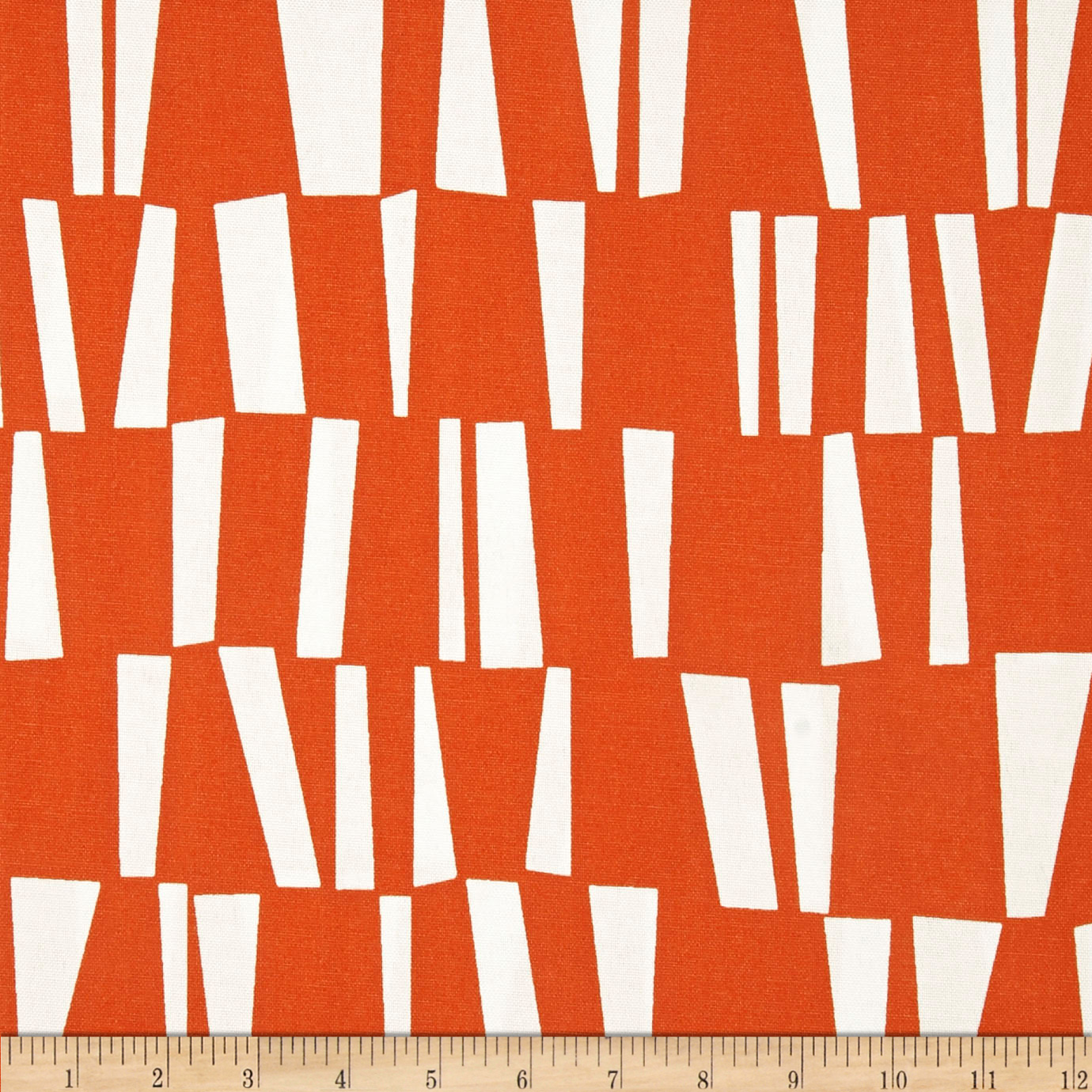 Premier Prints Indoor/Outdoor Sticks Orange Fabric