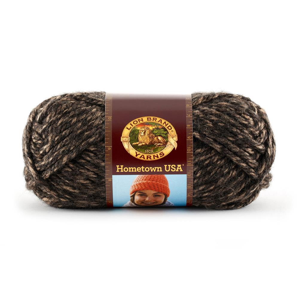 Lion Brand Hometown USA Yarn (215) Little Rock Granite