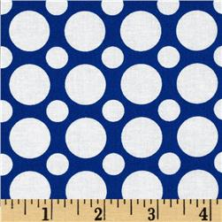 Kaufman Spot On Large Dot Riviera Fabric