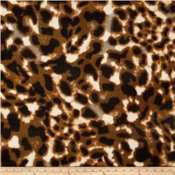 Polar Fleece Prints Taditional Skin Brown