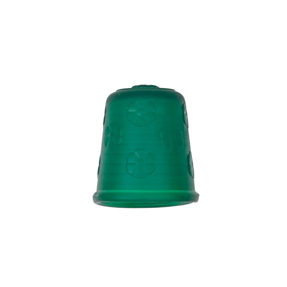"Dill Rubberized Thimble 3/4"" Green"