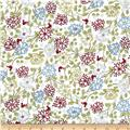 Glory Garden Medium Floral White