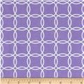 Metro Living Interlocking Circles Violet