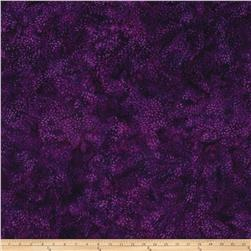 Island Batik Mum 2 Dark Purple