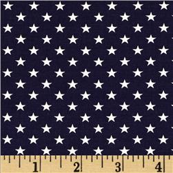 Stars & Stripes II Stars Blue/White Fabric