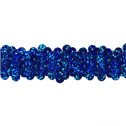 Team Spirit 3/4'' #30 Sequin Trim Royal Spot