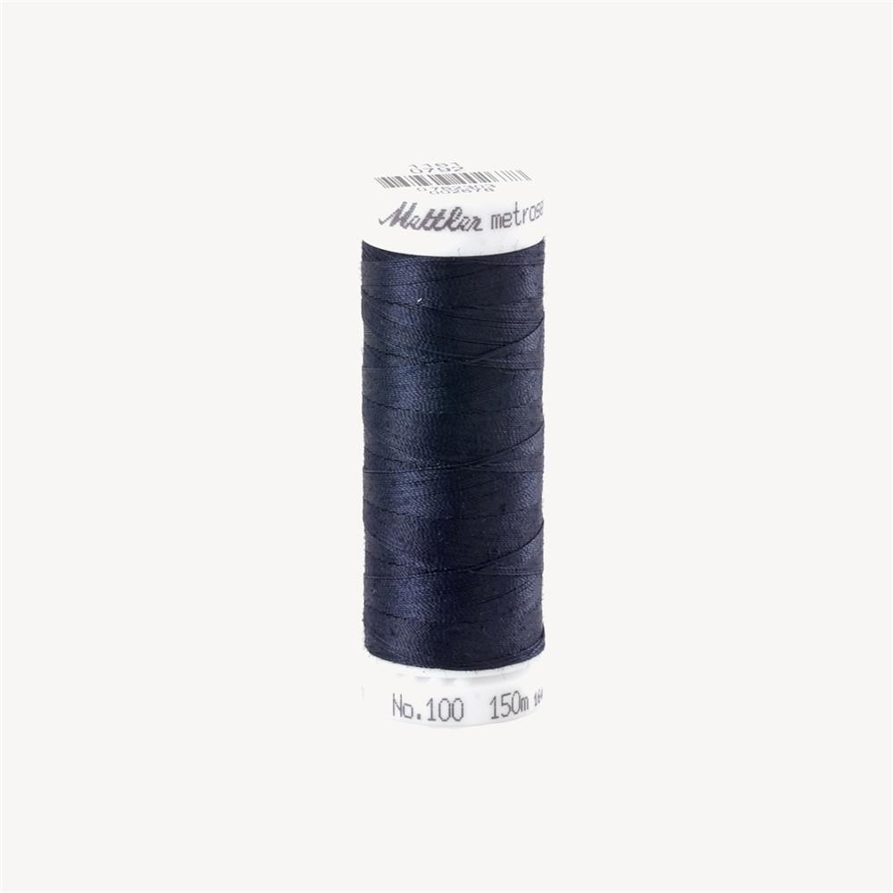 Mettler Metrosene Polyester All Purpose Thread Navy