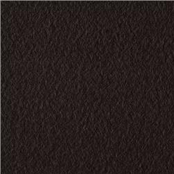 Wintry Fleece Black Fabric