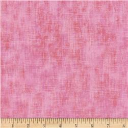 Timeless Treasures Studio Brushed Linen Texture Pink