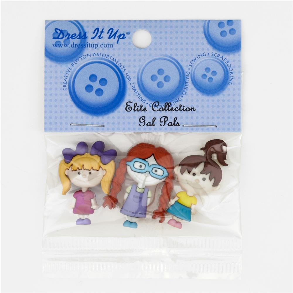 Dress It Up Embellishment Buttons  Gal Pal