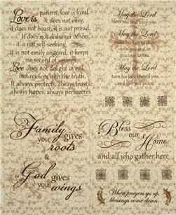 Heartfelt Home Faith Panel Beige