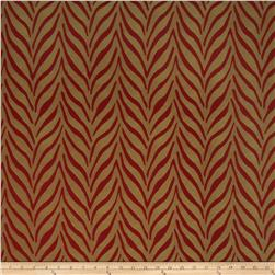 Fabricut Jungle Jacquard Red