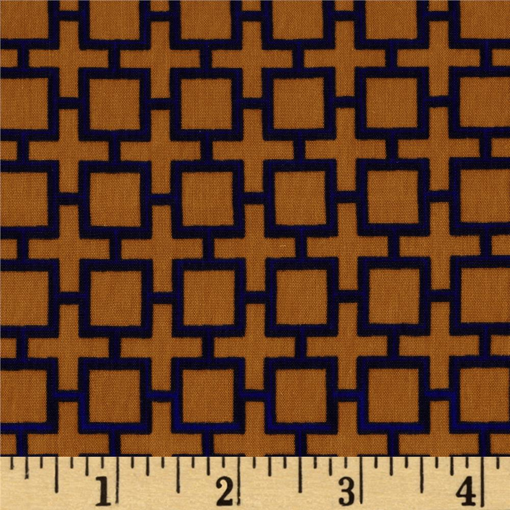 Peachskin Lattice Royal Khaki