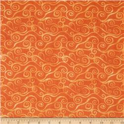 Essentials Swirly Scroll Orange