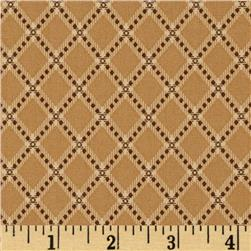 Moda Collection for a Cause Mill Book Bias Plaid Antique Tan