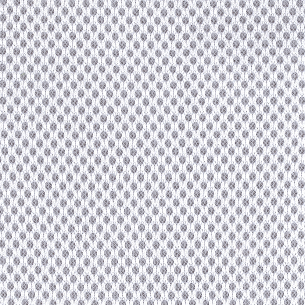 Spacer Mesh White Fabric by Carr in USA