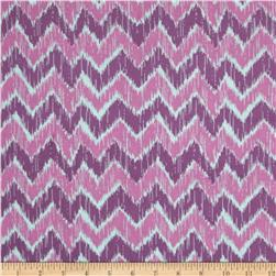 Spiro Ikat Chevron Purple