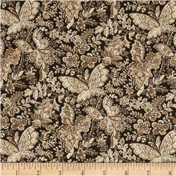 Apple Picking Time Butterfly Paisley Brown