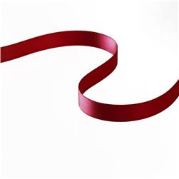 3/8'' Double-sided Satin Ribbon Burgundy